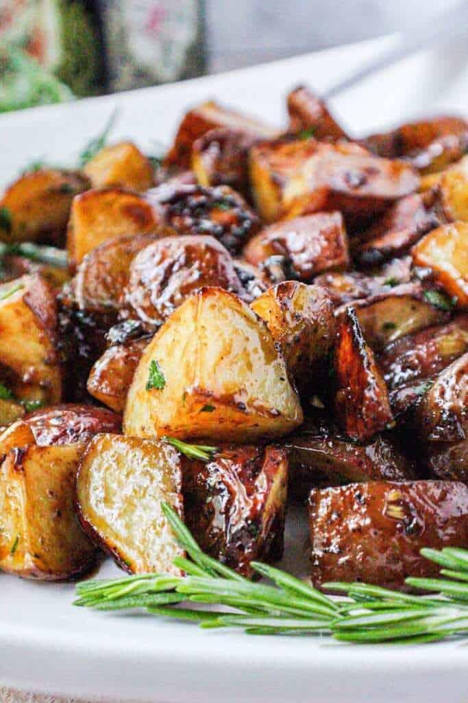 roasted red potatos