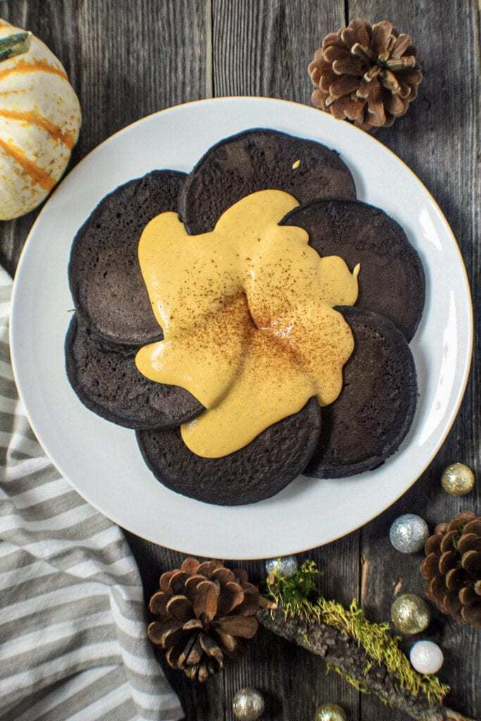 dark chocolate pancakes